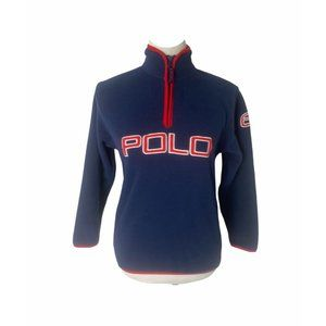 ~Boys medium polo Ralph Lauren fleece sweatshi